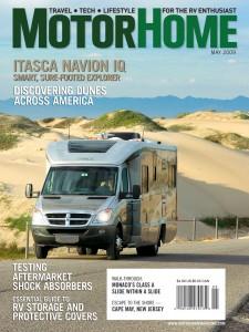 Ross Hubbard's cover photo on MotorHome Magazine 2009
